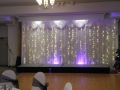 Second Back Lit Starlight Curtain with Shimmer Lighting
