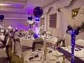 Purple Globe Table Centrepiece